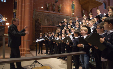 Evensong Knabenchor am 9. Oktober